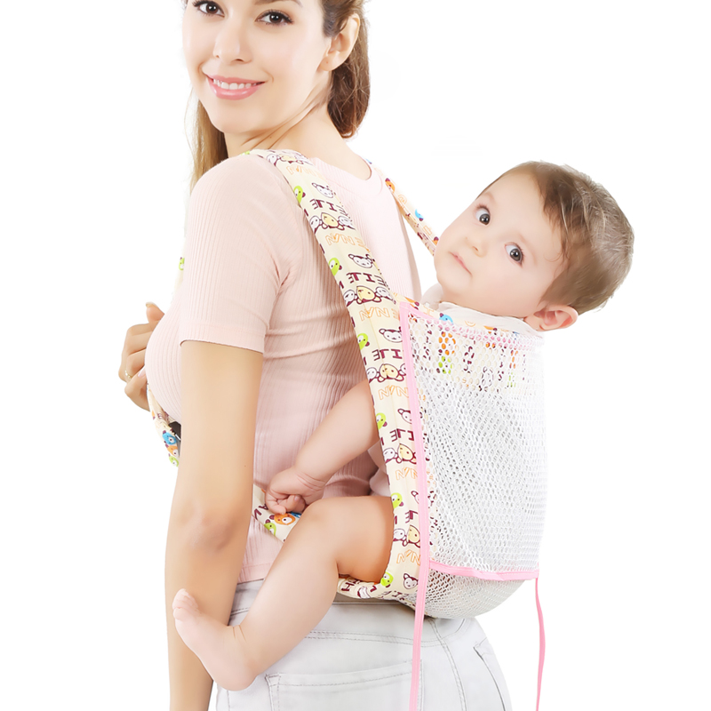 Traditional Four Claw Baby Carrier Baby Child Sling Front Front Back Vintage Summer Breathable Lightweight Belt