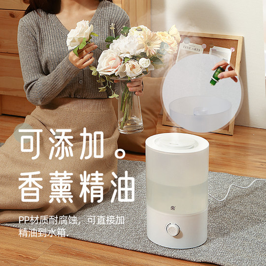 Rongsheng humidifier home silent bedroom with water aromatherapy air conditioning pregnant women baby air purification small spray
