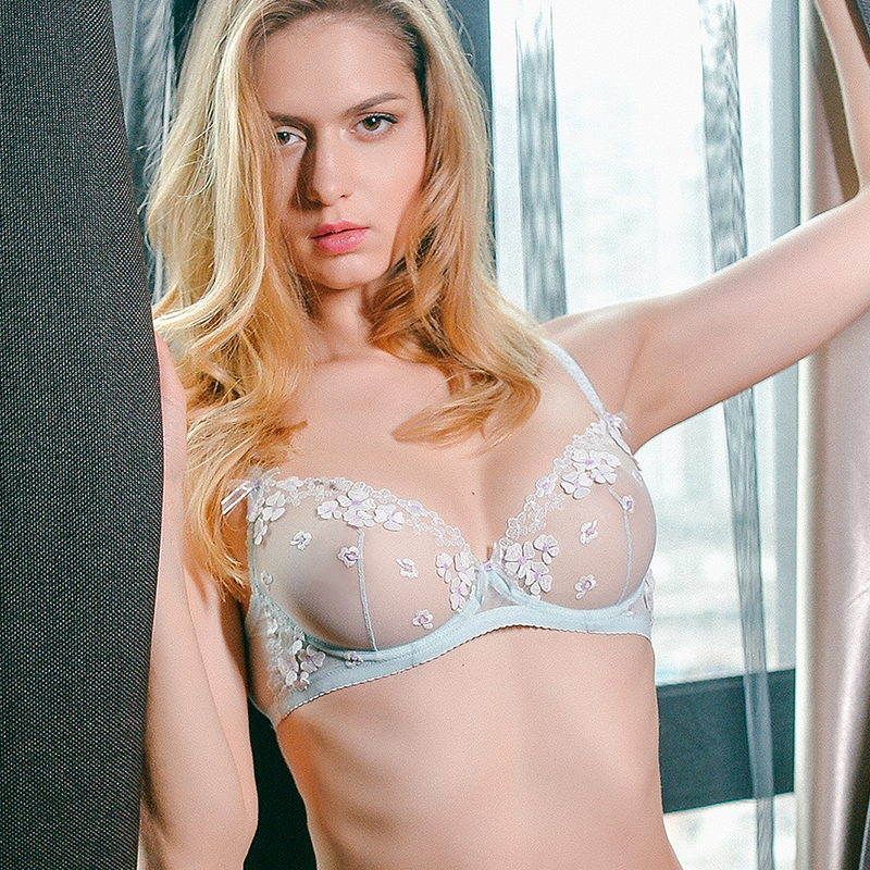 236525b612 ... bra. (Original design) girl beauty house sexy lace thin section without  sponge underwear comfortable thin. Zoom · lightbox moreview · lightbox  moreview ...