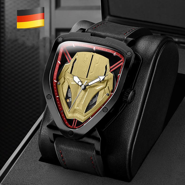 德国进口duriueu杜里手表男钢铁侠全自动机械表男表潮流时尚防水