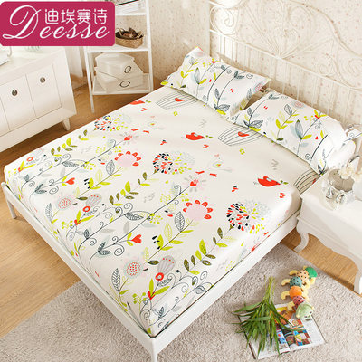 Bed sheet single piece cotton pure cotton Simmons mattress protection cover dustproof sheet 1.2m1.5m 1.8 bed cover bedspread