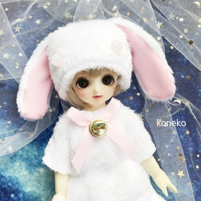 taobao agent 【Free shipping】bjd baby clothes animal skin 6 points 4 points giant baby lop-eared rabbit plush clothes
