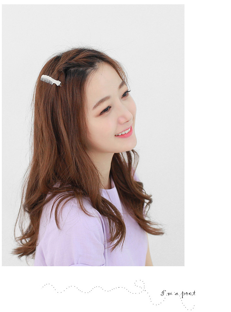New fashion alloy cute small comb hairpin cheap hairpin nihaojewelry wholesale NHOF214515