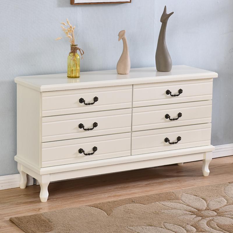 柜子电视柜五斗橱抽屉主卧房间特价实木欧式卧室柜现代简约六斗柜