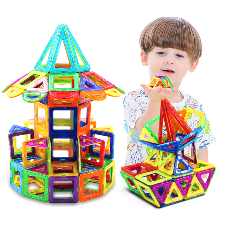 Magnetic Toys For Boys : Usd magnetic pieces building blocks kids