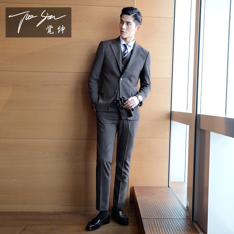 Usd 18000 Suit Male Suit Korean Version Of The Slim Three Piece