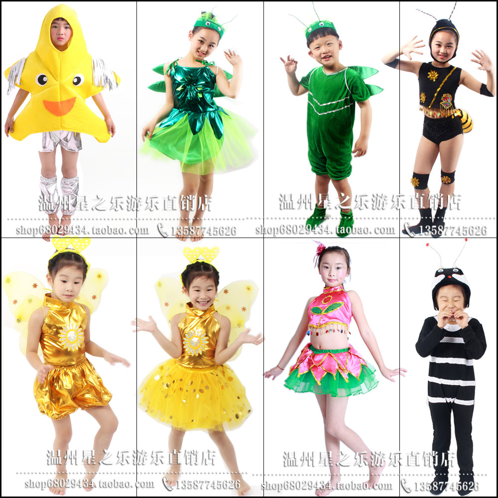 Childrenu0027s insect performance dress child textbook drama Summer Night How Beautiful performance costumes ant water Lily  sc 1 st  ChinaHao.com & USD 15.58] Childrenu0027s insect performance dress child textbook drama ...