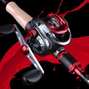 猎魔人碳素双稍直枪柄路亚竿套装水滴轮雷强竿抛海黑鱼钓鱼杆渔杆