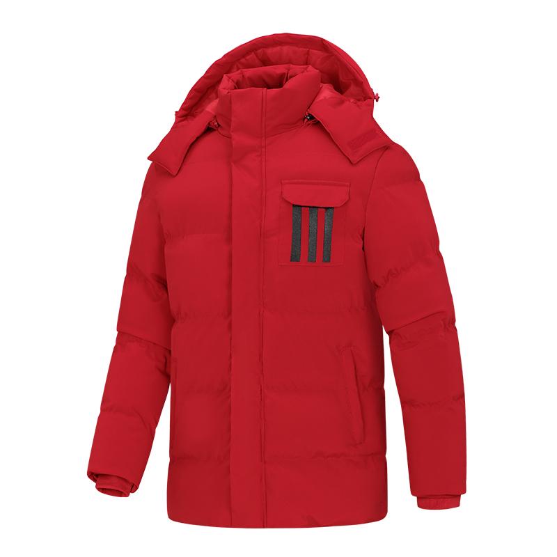 Mùa đông chất lượng cao quần áo cotton nam xuống áo khoác cộng với nhung dày trùm đầu áo gió và không thấm nước mùa đông áo khoác cotton - Bông