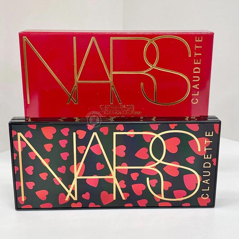 佩佩韓國彩妝第一批到 日本Nars2021新春限量彩妝愛心殼口紅眼影腮紅盤2.5髮售