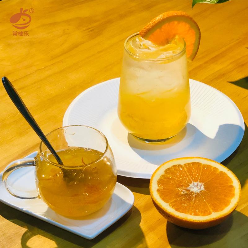 【常柚乐】蜂蜜柚子茶共220g*2瓶