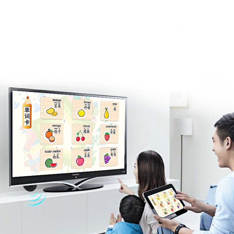 无线投屏器手机同屏器电视机4K高清传输hdmi安卓5G双频车载神器