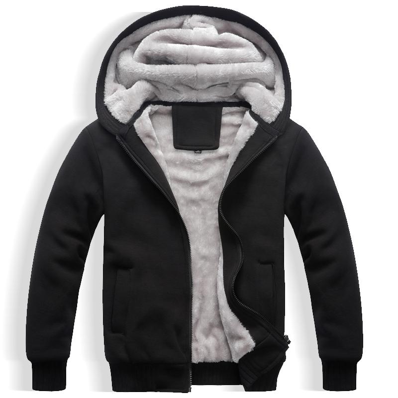 卫衣男冬季加绒开衫加厚连帽外套韩版潮流青年休闲冬装男装上衣
