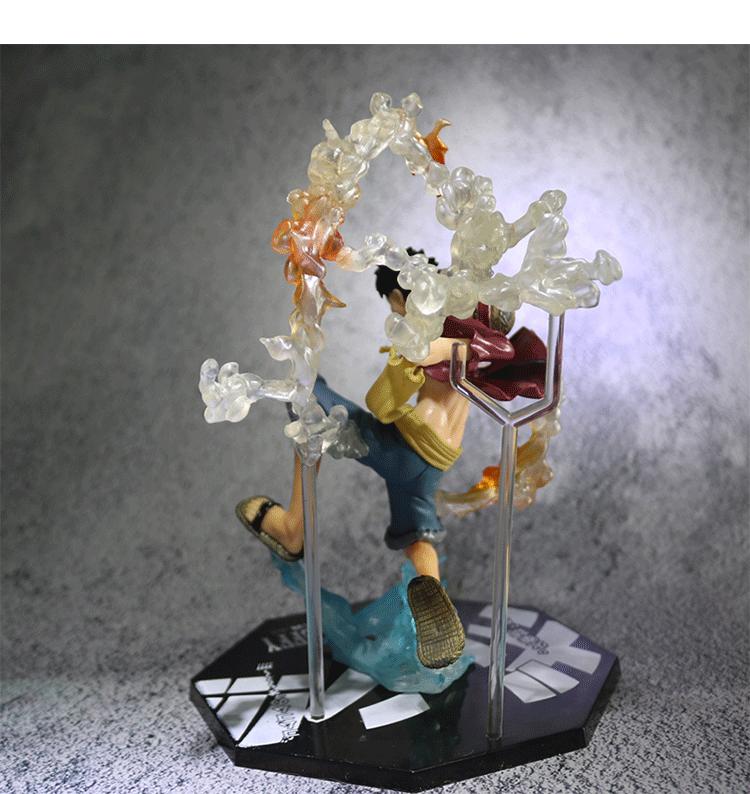 海賊王手辦索隆路飛二次元模型玩具公仔擺件生日禮物動漫周邊玩偶*可魯可丫