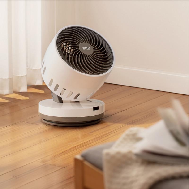 水田可遥控循环扇摇头小型对流电风扇