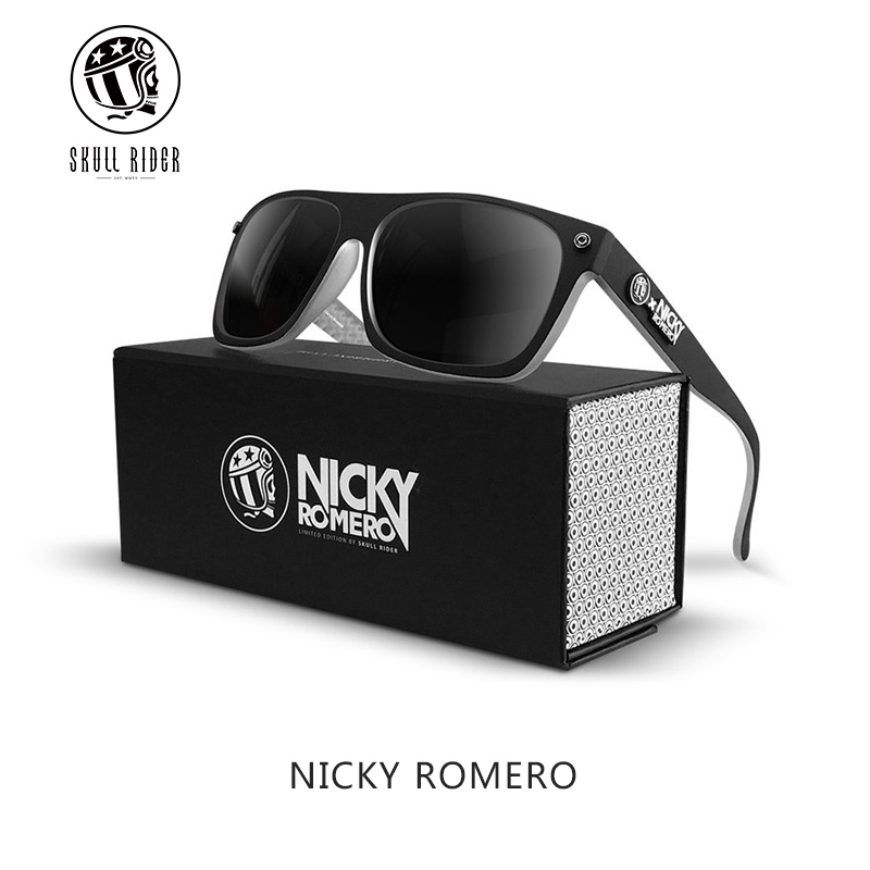 11737919f3 Spanish sunglasses male SKULL RIDER x NICKY ROMERO joint special edition  sunglasses male