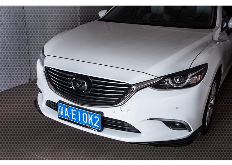 Logo Carbon trang trí trước sau xe Mazda 6 - ảnh 10