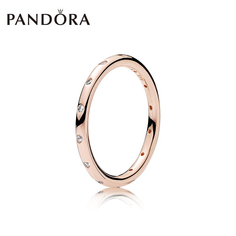 6c1767692 PANDORA PANDORA Rose Gold Drop ring 180945cz simple fashion ...