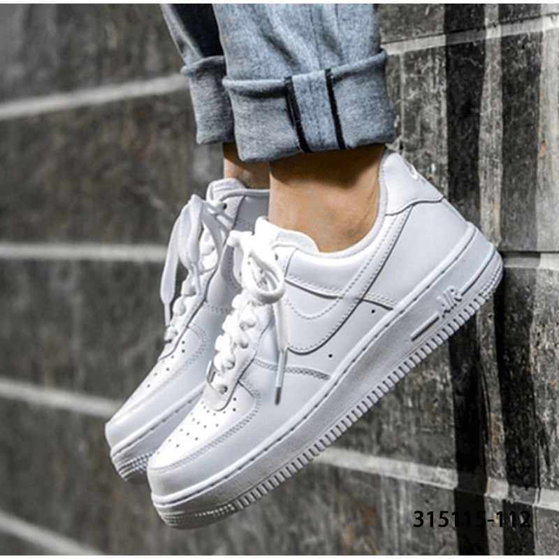 4c9b1095b17 Nike Women s shoes 2018 Autumn Air Force 1 Air Force One lightweight sports  shoes 315115-112