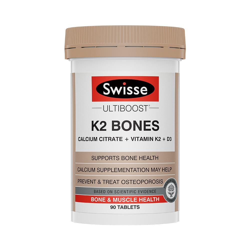 Swisse澳洲进口K2钙片维生素90片