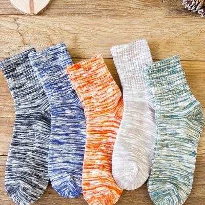 袜子男女情侣款ins潮流中筒袜秋冬季吸汗防臭运动透气休闲长筒袜