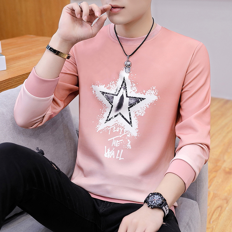 Pentagram Long Sleeve: Pink