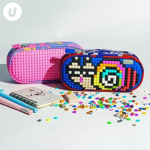 UPIXEL/顽意  小学生文具盒多功能笔盒创意礼物拼图铅笔袋大容量