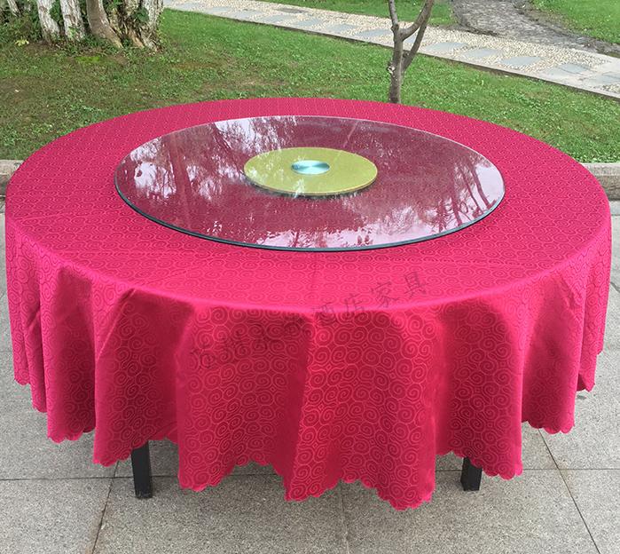 酒店桌布布艺欧式饭厅饭店餐桌布家用茶几方形圆形圆桌桌布桌布详细照片