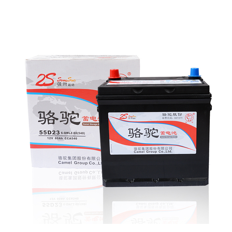 Camel battery 12V60AH fit BYD F3 Elantra Corolla Elan car battery 55D23