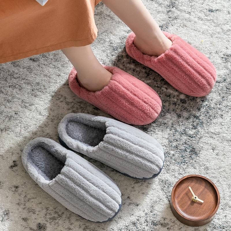 棉拖鞋女家用秋冬季室内居家