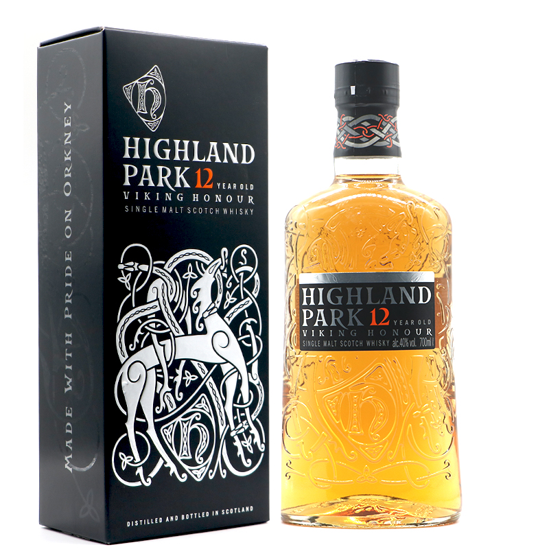 骑士现货HighlandPark麦芽洋酒12年单一高原威士忌700ml