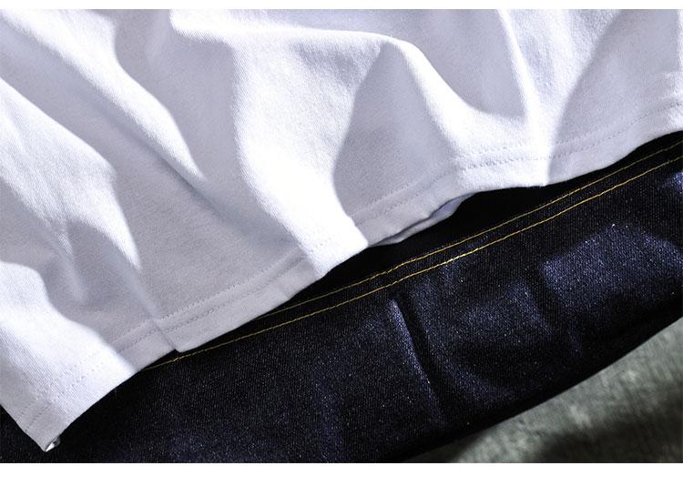 欧美街头嘻哈短袖恤男宽鬆韩版潮流原宿风情侣半袖详细照片