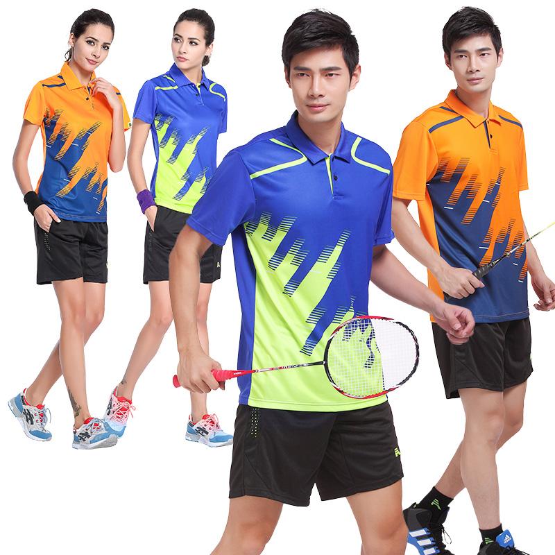 团队服定制羽毛球服套装男 团体网球服运动速干 羽毛球衣服女团购