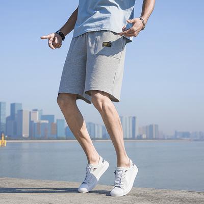 男士五分短裤男夏天休闲中裤子男士沙滩裤夏季卫裤运动大裤衩潮