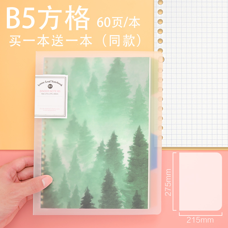 B5 SQUARE (FOG FOREST) TO SEND THE SAME PARAGRAPH 1