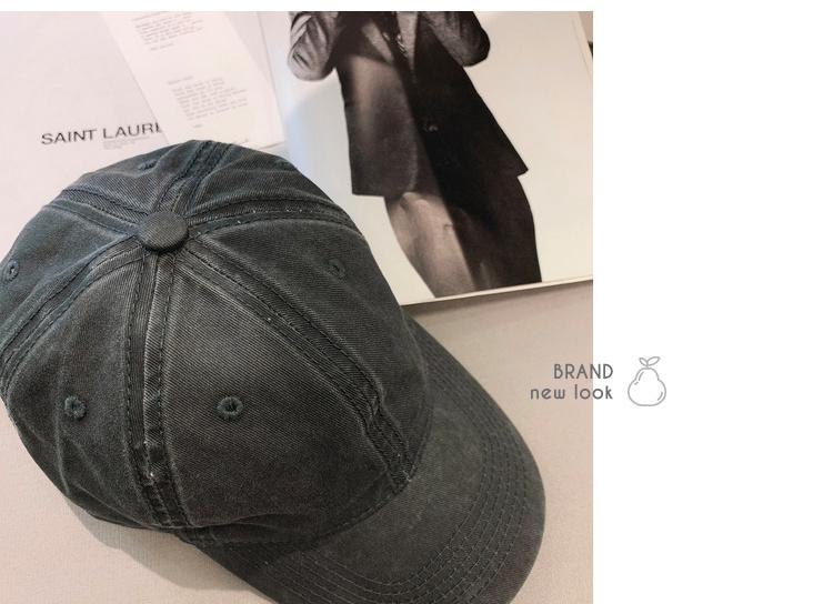 棒球帽 休閒棒球帽純色系簡約但百搭顯臉小棒球帽  新年新店新優惠