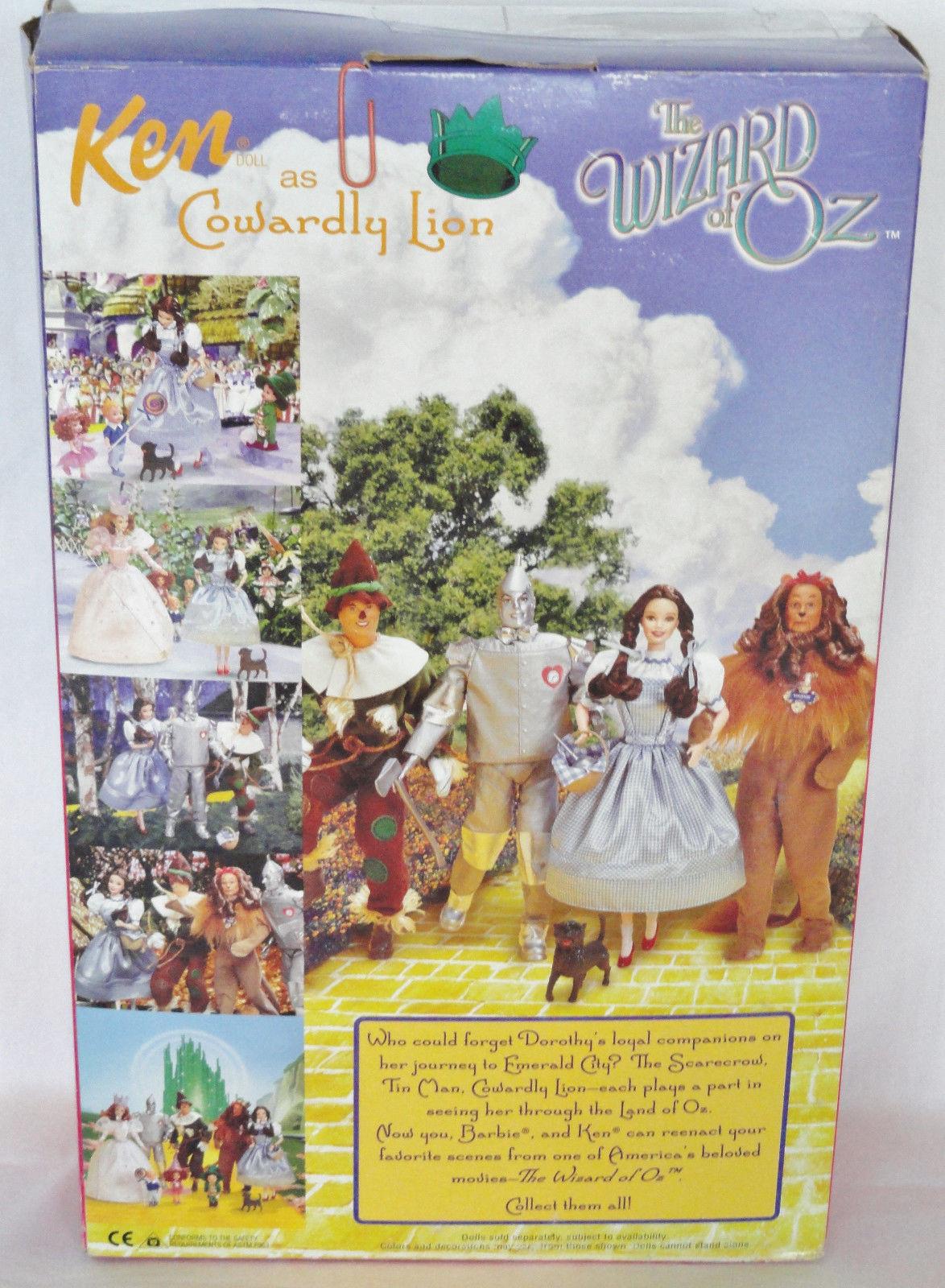 Barbie wizard of Oz  Lion Ken 1999 綠野仙蹤 小獅子 芭比娃娃