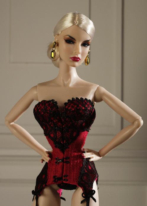 IT娃 Fashion Royalty Agnes Head of Glamour 安吉斯 內衣娃衣