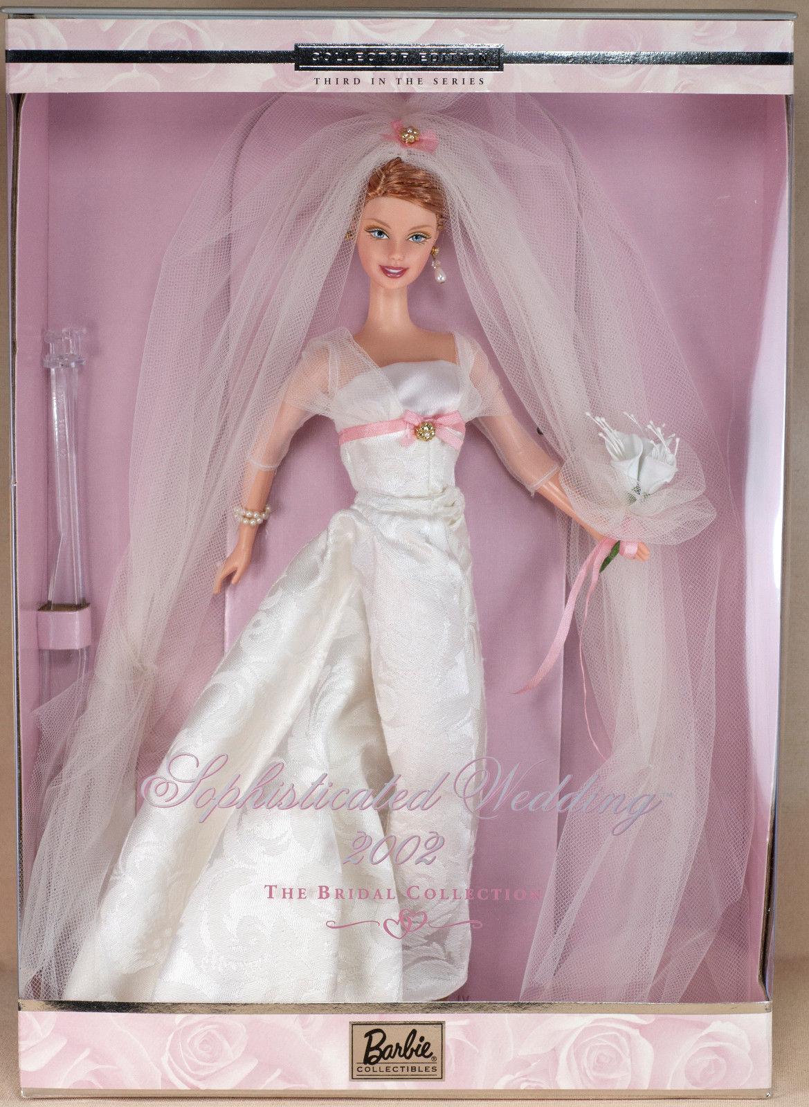 2002 Sophisticated Wedding Barbie 婚紗新娘 珍藏版芭比娃娃
