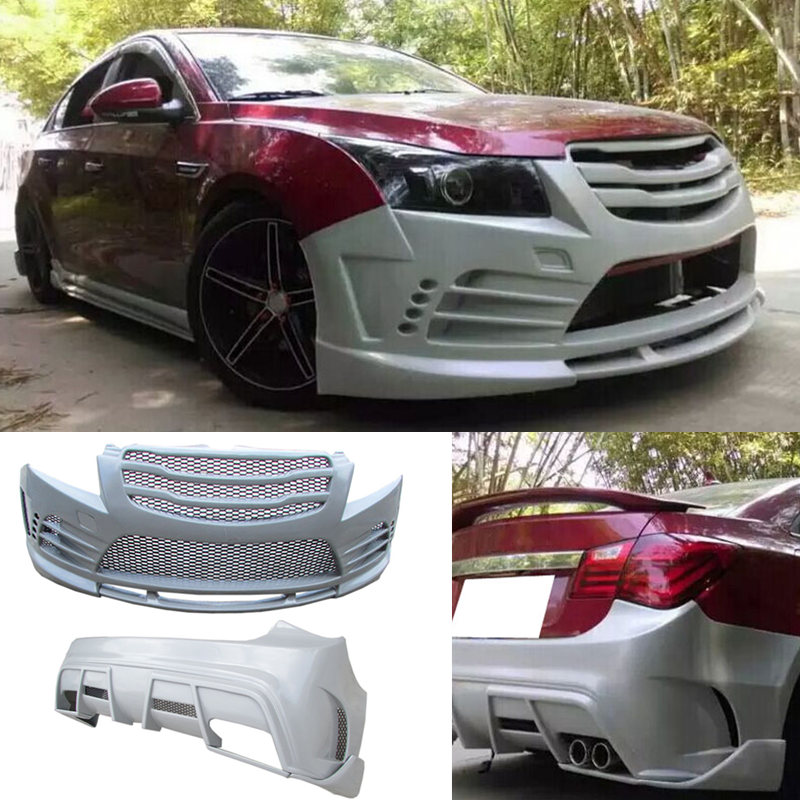 Abs Plastic Bumper Bodykit Snap Type For Chevrolet Cruze