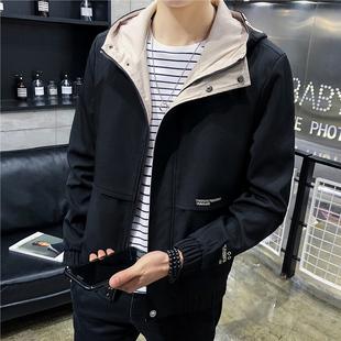 【瑛格都】春季男士外套韩版潮流修身夹克