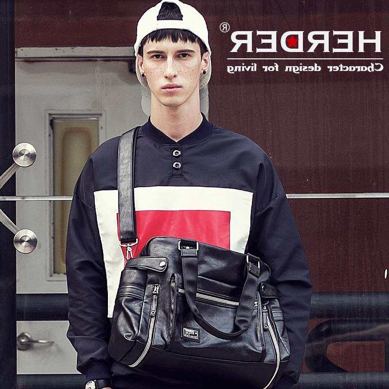 Q-赫登尔男女旅行包男士手提包大包短途大容量行李包休闲运动健身
