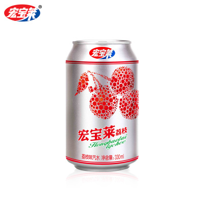 经典荔枝味汽水330ml*12罐