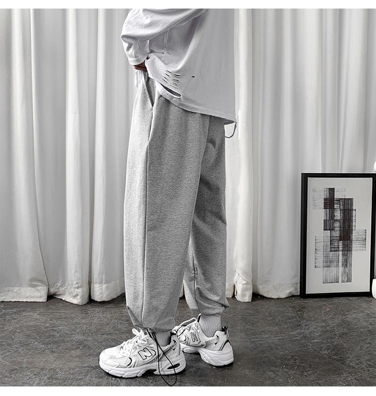 数据超好~大爆款秋季新款港风束腿休闲裤运动卫裤A468A-K121-P55
