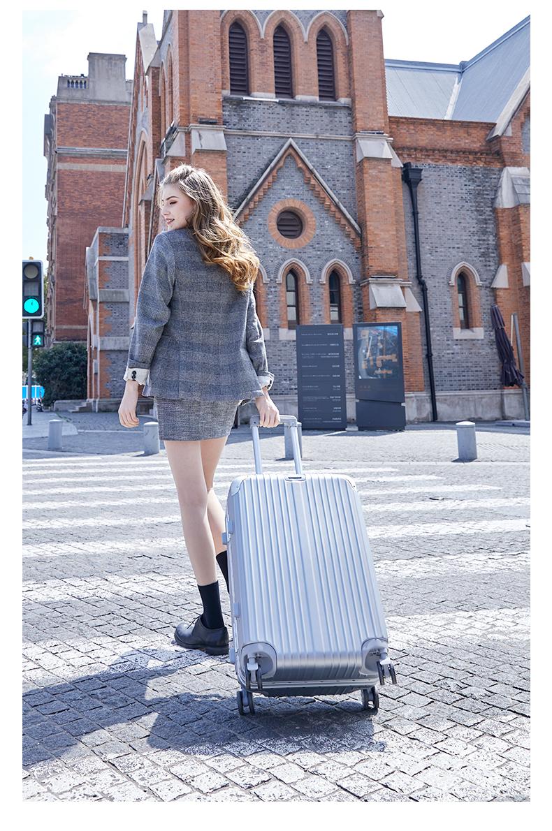 行李箱女万向轮网红拉桿旅行箱小型密码箱男寸耐用皮箱子详细照片