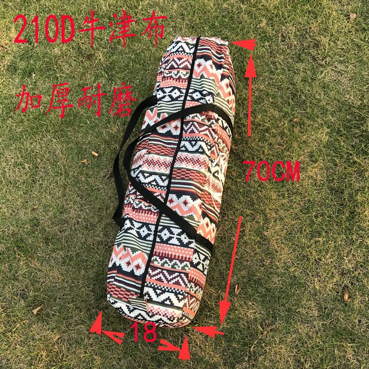 Аксессуары для палатки День обезьяна на открытом воздухе палатка сумка для хранения мешок в наружный мешок 18*18*70 ткань Оксфорд утолщение износостойких водонепроницаемый