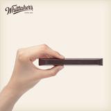 临期好价,0反式脂肪酸、不发胖:75gx6袋 Whittaker's/惠特克 72%黑巧克力棒 拍2件+券后29元包邮(京东119元/件)