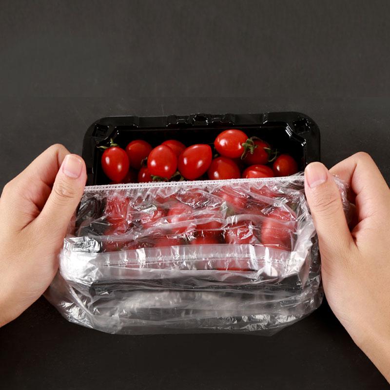 一次性保鲜袋套剩菜剩饭保鲜碗罩松紧口食品级保鲜膜盖套碗罩家用
