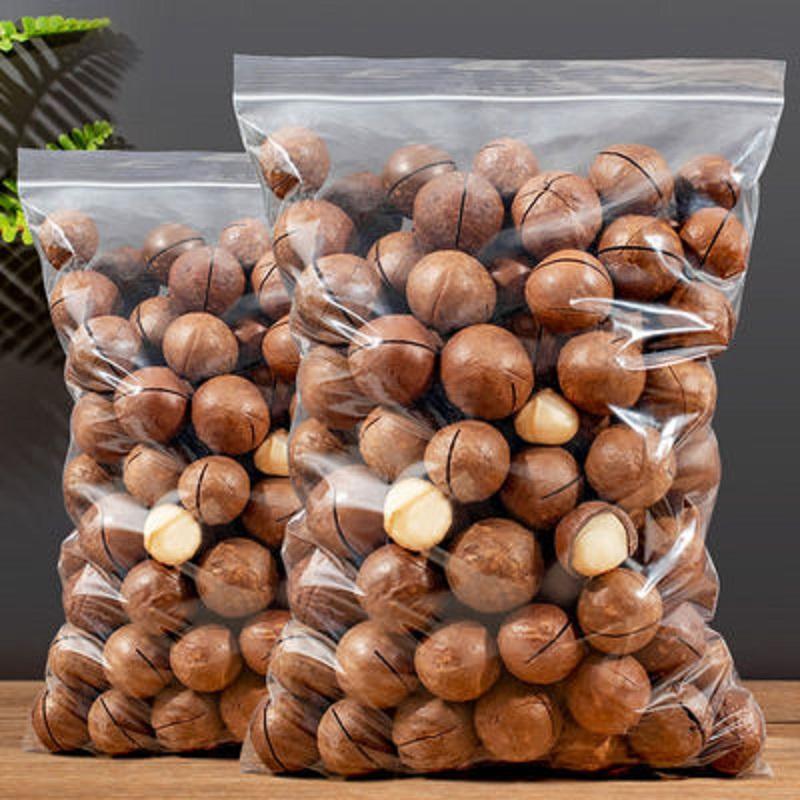 新货夏威夷果净重500g克奶油坚果干果大礼包零食1000g整箱5斤