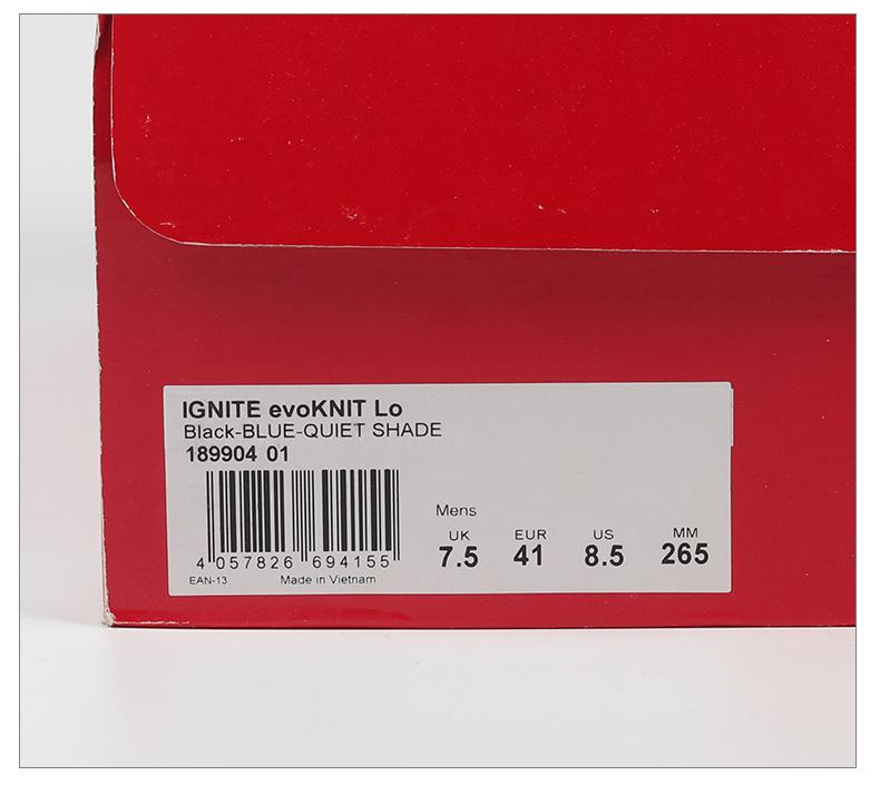 運動鞋服正品專櫃Puma/彪馬正品新款IGNITE evoKNIT Lo男子低幫運動跑步鞋189904